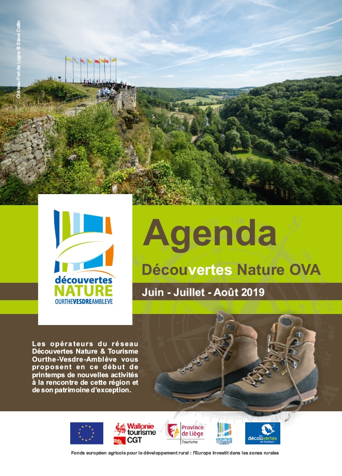 Agenda Découvertes Nature OVA : Juin - Juillet - Août