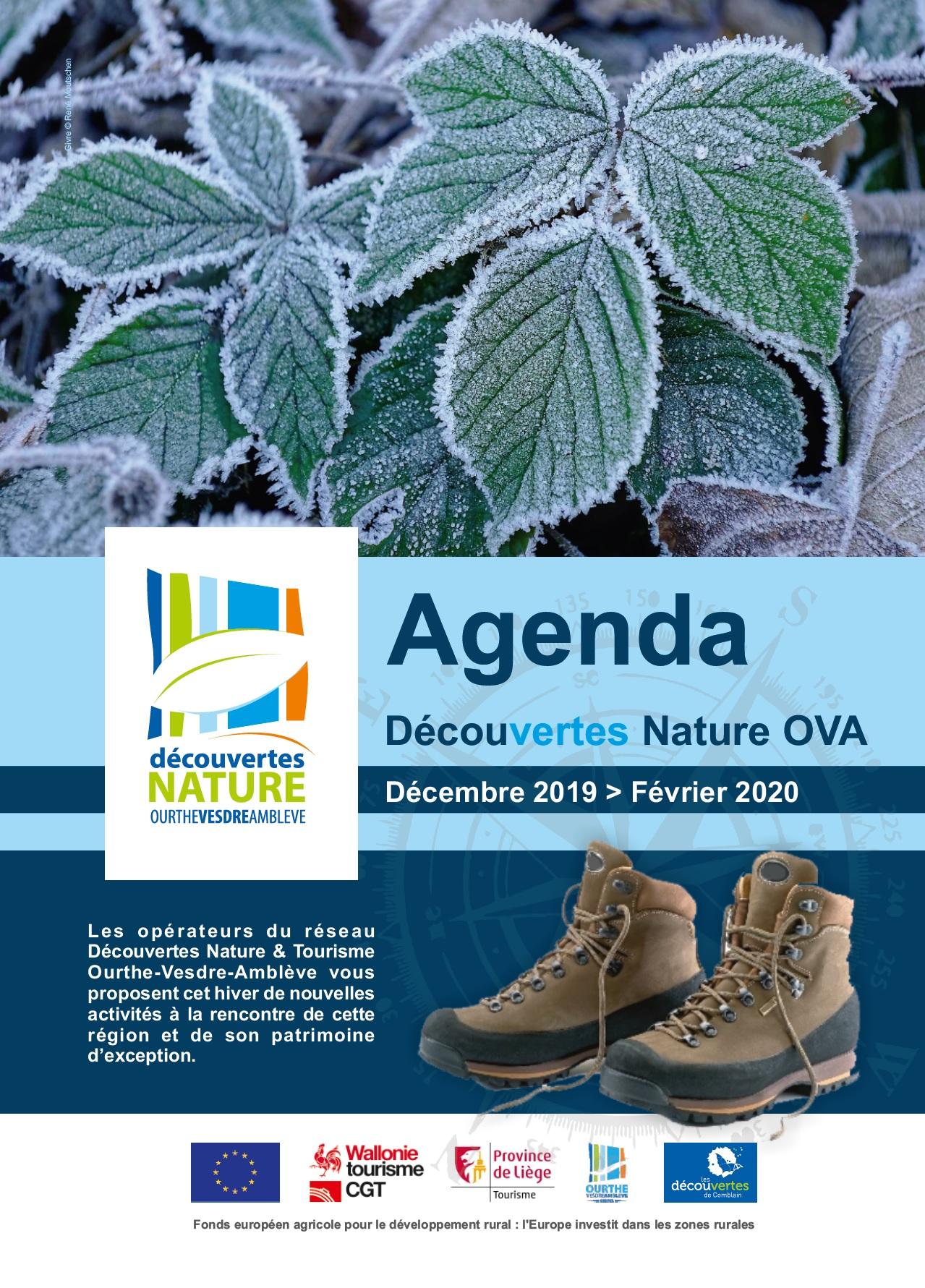 Agenda Décembre > Février